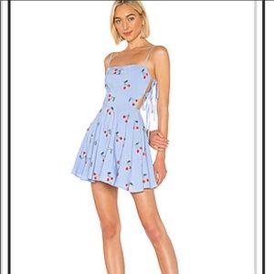 Lovers + Friends Cassie dress light blue small